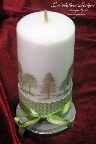 Christmas Candle-2