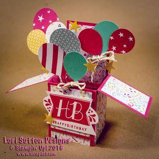 Birthday Explosion Cardweb