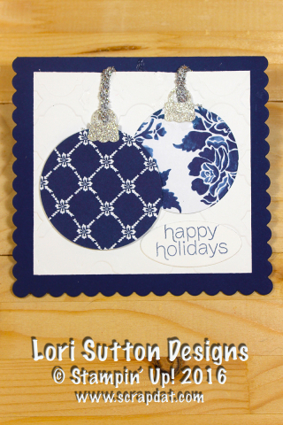 Floral Boutique Ornament Card web
